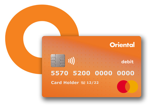 Tarjeta Débito Oriental Mastercard